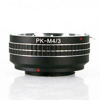 Pentax PK K Lens To Micro 4/3 M4/3 Mount Adapter Olympus M43 Panasonic GX7 G6