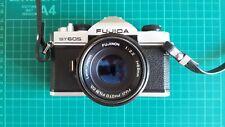 Beautiful Fujica ST605 35mm SLR camera with 55mm f/2.2 Fujinon Lens M42