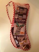 Cat Christmas Stocking - with Toys and Treats