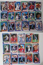 1990 Topps Montreal Expos Team Set of 33 Baseball Cards
