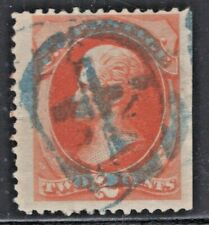 #178 Used Fancy Blue Cross in Circle Cancel  (JH 5/4)