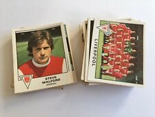 Panini Football 80 Stickers x66 (with backs) incl Arsenal/Liverpool