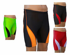 ACCLAIM Fitness Beijing Mens Red Grey Cycle Style Short Running Fitness Training