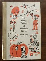 Vintage 1956 The Family Treasury of Children's Stories Book One Exlib Acc