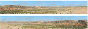 """Art Printers Backscene 'Desert' 225N  9"""" High 'N' Gauge"""