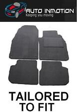 VOLVO V50 8 FIXING CLIPS Tailored Fitted Custom Made Car Floor Mats GREY Trim