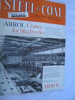 Railwayana: Steel & Coal Magazine, October 1962