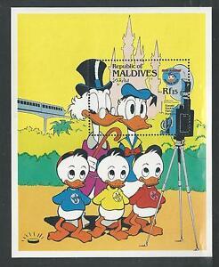 MALDIVES # 1048 MNH DISNEY, Donald's Happy Birthday Family Portrait. Sheet