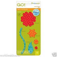 AccuQuilt GO! & Baby GO! Round Flower Fabric Cutting Die 55007 Quilting Sewing