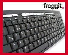 Design Tastatur Multimedia USB  Deutsch PK703 schwarz