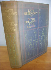 KATE GREENAWAY by M.H. Spielmann & G.S. Layard, Illustrated, 1905, 1st Ed