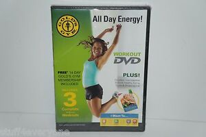 Gold's Gym Workout DVD All Day Energy!