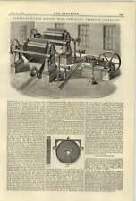 1884 Filtro De Agua Limpia Johnson prensa Con Presión Neumático Aparato