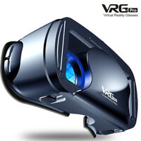 VR Glasses Virtual Reality Headset 360° VR 3D Glasses Goggles Mobile Phone NEW &