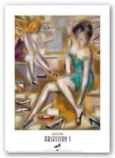 Obsession I Elya DeChino Art Print 21x15