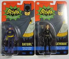 """BATMAN 1966 Batgirl + Catwoman - Funko - 9 cm / 3,5"""" (DC Comics)"""