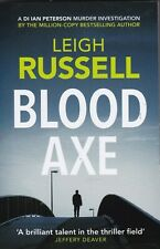 LEIGH RUSSEL: BLOOD AXE PAPERBACK BOOK