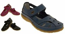 100% Leather Mary Janes Standard Width (B) Flats for Women