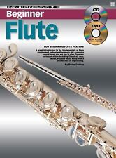 Progressive Beginner Flute - Teach Yourself How to Play Clarinet CD DVD