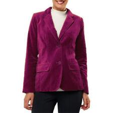 Isaac Mizrahi Live Velvet Blazer Printed Lining Sz 20W Plus Velveteen Jacket QVC