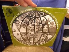 John & Mary Lou Tiezen Let The Whole World Know LP private press Sealed