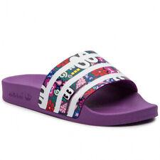 Adidas Originals Adilette W Mens Slide Slip On Flip Flop Purple Sandal CG6468
