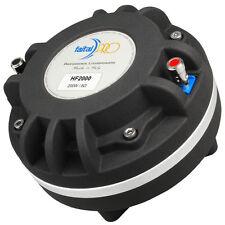 "Faital Pro2000 2"" Compression Horn Driver Neodymium 200W 110dB Tweeter Speaker"