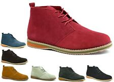 MEN'S SUEDE LEATHER LACE UP DESERT HIGH QUALITY DESERT BOOT UK SIZE 6-11