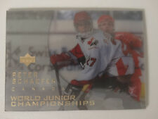 1996-97 Upper Deck Ice #135 Peter Schaefer Canada World Junior Hockey Card
