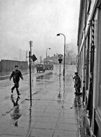 PHOTO  LANARKSHIRE COATBRIDGE SUNNYSIDE A VIEW NEAR THE RAILWAY STATION. 1957