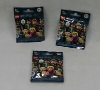 3 x Lego Harry Potter Minifigures 71022 - New and Sealed Unsorted Packs