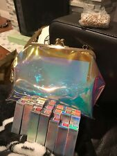 Lot Of 12 With Iridescent Clutch Loreal Shine On Lipsticks Brand New