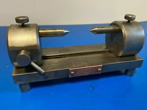 Vintage manual inspection tool manual lathe engineering tool makers adjustable
