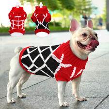 Hand Knit Suéter De Invierno Cálido Chaleco Perro Pequeño Mascota Cachorro Chihuahua ropa Yorkie