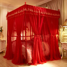 mosquito net Elegant metal bar frame Wedding bed Mosquito bar set Bed curtains