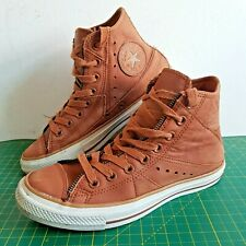 Converse Chuck Taylor All Star Hi Tops NuBuck Wheat/Brown Size UK 6.5 EU 39.5