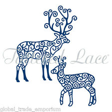 NEW Tattered Lace 'REINDEER' Christmas Die - D351 - VERY RARE - FREE UK P&P!