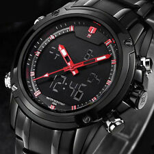 Military Sports Watch Men's Multi-function Stainless Steel Luxury Quartz Watches
