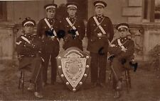 NCO's Orderlies St John Ambulance Brigade with a Horticultural Society trophy