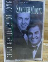 Vintage Cassette Tape SANDLER YOUNG Great Gentleman Of Song NEW Factory Sealed