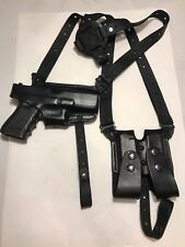 Premium Leather Black Shoulder holster for Sig Sauer 365 made in USA