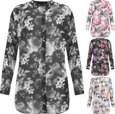 Camicia da donna fantasia floreale multicolore