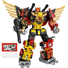 WeiJiang Predaking Transformer Tiger Giant Spirit 5in1Set Oversized Robot Figure