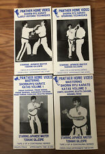 Mastering Shorin Ryu 4 Vhs Toshiaki GillespiePanther Home Video Martial Arts Lot