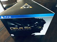 PS4 Playstation 4 Deus Ex Collector's Edition Empty Box Sleeve NO GAME BOX ONLY