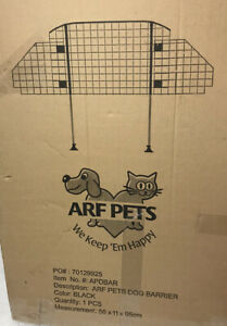 Arc Pets Car Pet Barrier Vehicle Dog Fence Cage Gate Safety Travel For Auto SUV
