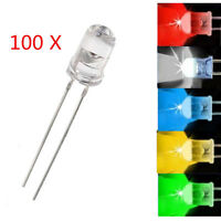 5mm LED Leuchtdioden Lampe Licht Ultrahell Widerstände Rot/Grün/Blau/Gelb/Weiß