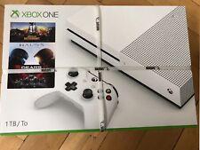 Microsoft Xbox One 1TB Wei�Ÿ Spielekonsole mit Spiele nur 249.9�'� Neu!