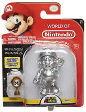 "World of Nintendo 4"" Action Figure Wave 12 - Metal Mario w/ Trophy"