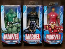 Marvel 2016 Action Figures 6-Inch Hasbro - *Black Panther* *The Hulk* *Iron Man*